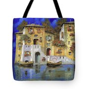 Cieloblu Tote Bag by Guido Borelli