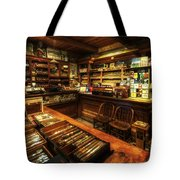 Cigar Shop Tote Bag by Yhun Suarez