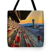 Circuit De Catalunya - Barcelona  Tote Bag by Juergen Weiss