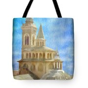 Citta Alta from Above Tote Bag by Jeff Kolker