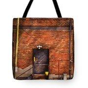 City - Door - The Back Door  Tote Bag by Mike Savad