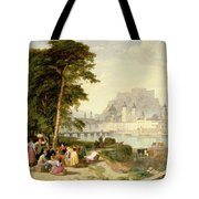 City of Salzburg Tote Bag by Philip Hutchins Rogers