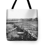 Civil War: Quaker Guns Tote Bag by Granger