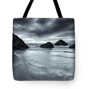 Clearing Storm Tote Bag by Mike  Dawson