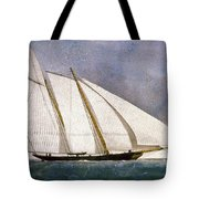 Clipper Yacht America Tote Bag by Granger