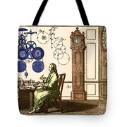 Clockmaker Tote Bag by Photo Researchers