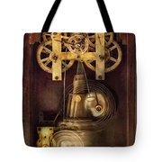 Clockmaker - The Mechanism  Tote Bag by Mike Savad