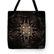 Clockwork Tote Bag by John Edwards