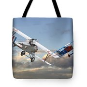 Close Quarters Tote Bag by Pat Speirs