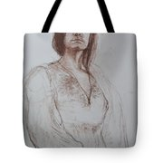 Clothed Model Tote Bag by Harry Robertson