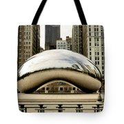 Cloud Gate - 3 Tote Bag by Ely Arsha