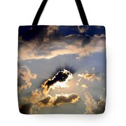 Cloud Nine 4 Tote Bag by Will Borden