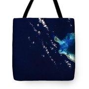 Cocos Islands Tote Bag by Adam Romanowicz