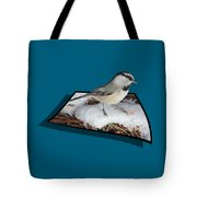 Cold Feet Tote Bag by Shane Bechler