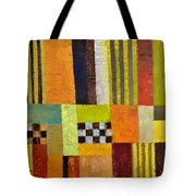 Color And Pattern Abstract Tote Bag by Michelle Calkins