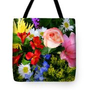 Color Explosion Tote Bag by Kristin Elmquist