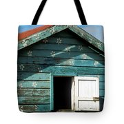 Colorful Shack Tote Bag by John Greim