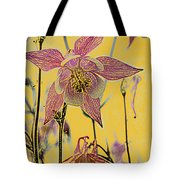 Columbine  Tote Bag by Michael Peychich