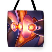 Combustion Abstract Tote Bag by Alexander Butler