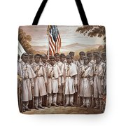 'Come and Join Us Brothers' Tote Bag by American School