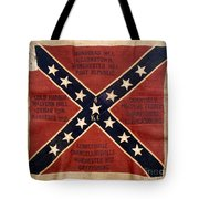CONFEDERATE FLAG, 1863 Tote Bag by Granger