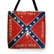 Confederate Flag Tote Bag by Granger