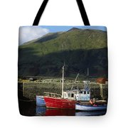 Connemara, Co Galway, Ireland Fishing Tote Bag by The Irish Image Collection