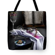 Consecrated Tote Bag by Reggie Duffie