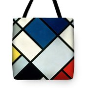 Contracomposition Of Dissonances Tote Bag by Theo van Doesburg