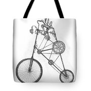 Contraption Tote Bag by Adam Zebediah Joseph