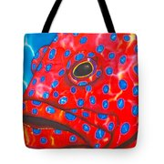Coral Groupper II Tote Bag by Daniel Jean-Baptiste