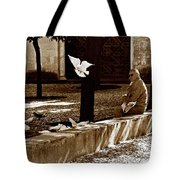 Cordoba Flight Tote Bag by Lorraine Devon Wilke