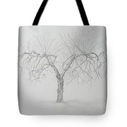 Cortland Apple Tote Bag by Leah  Tomaino