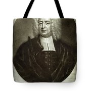 Cotton Mather 1663-1728 Tote Bag by Granger
