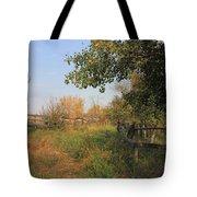Country Lane Tote Bag by Jim Sauchyn