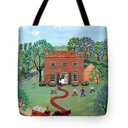 Country Visit Tote Bag by Linda Mears