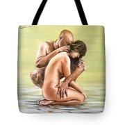 Couple Tote Bag by Natalia Tejera