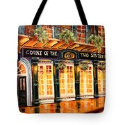 Court Of The Two Sisters Tote Bag by Diane Millsap