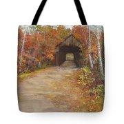Covered Bridge  Southern Nh Tote Bag by Jack Skinner