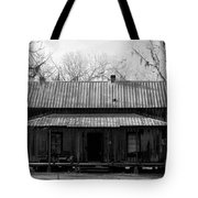 Cracker Cabin Tote Bag by David Lee Thompson