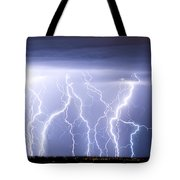 Crazy Skies Tote Bag by James BO  Insogna