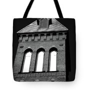 Cross Tower Tote Bag by Karol  Livote