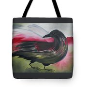 Crow Tote Bag by Karen MacKenzie