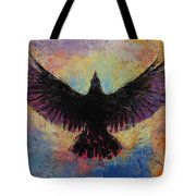 Crow Tote Bag by Michael Creese