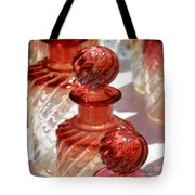 Crystal Bottles Tote Bag by Lainie Wrightson