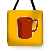 Cup Of Coffee Graphic Image Tote Bag by Pixel Chimp