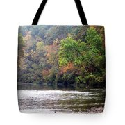 Current River 1 Tote Bag by Marty Koch