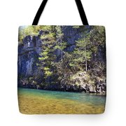 Current River 7 Tote Bag by Marty Koch