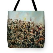 Custer's Last Stand Tote Bag by Edgar Samuel Paxson