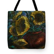 Cut Short Tote Bag by Michael Lang